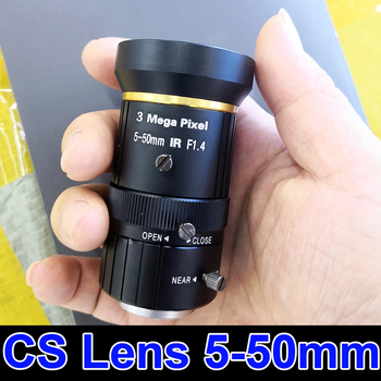 3MP CS Camera Lens 5-50mm manual Varifocal CCTV Lens for IP Camera AHD camera - discount item 5% OFF Security & Protection