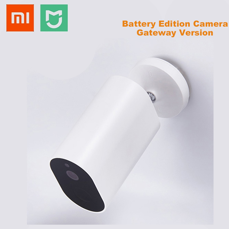 NEW Xiaomi IMILAB CMSXJ11A Wireless Infrared IP Camera Stable Signal AI Humanoid Detection IP65 Smart Battery Camera Mijia App