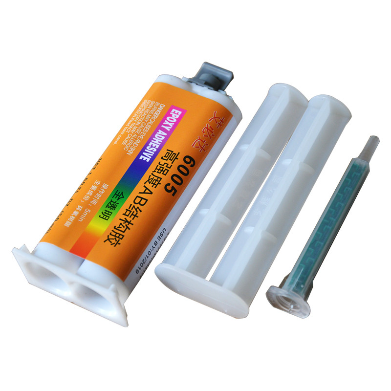 Hot selling potting glue dry glue transparent high strength epoxy resin glue metal glue ceramic wood plastic ab glue deli liquid glue ab glue dry curing for metal plastic wood glass ceramics high strong adhesive liquid glue 4ml 1pcs