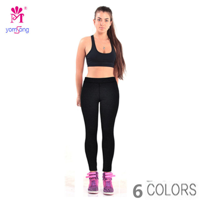 Yomsong New Candy Color Sexy Hip Heach Leggings Fitness Long Fashion Women's Leggings Slim Skinny Super Elastic Leggings 370