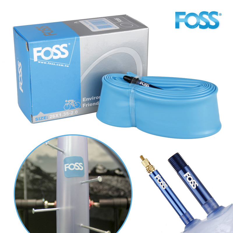 Foss Bicycle <font><b>Tires</b></font> Cycling Mtb Mountain <font><b>Bike</b></font> Road <font><b>Bike</b></font> Leak-proof Explosion-proof Inner Tube Bicycle Inner Tube 700c 23-25C F/V image