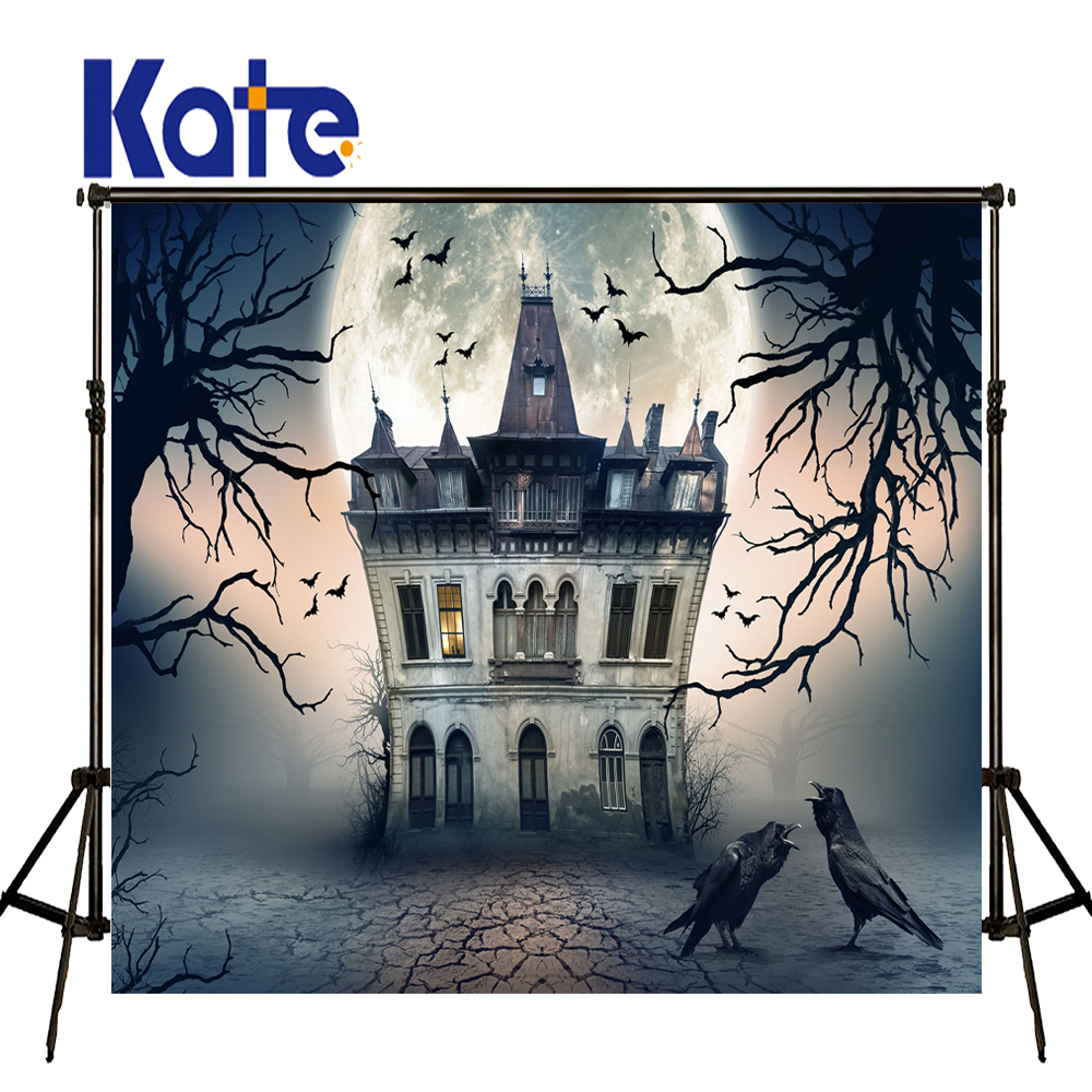 KATE Photography Backdrops Children Photo Background Halloween Backdrop Hintergrund Fotografie Newborn Haus Forest Background