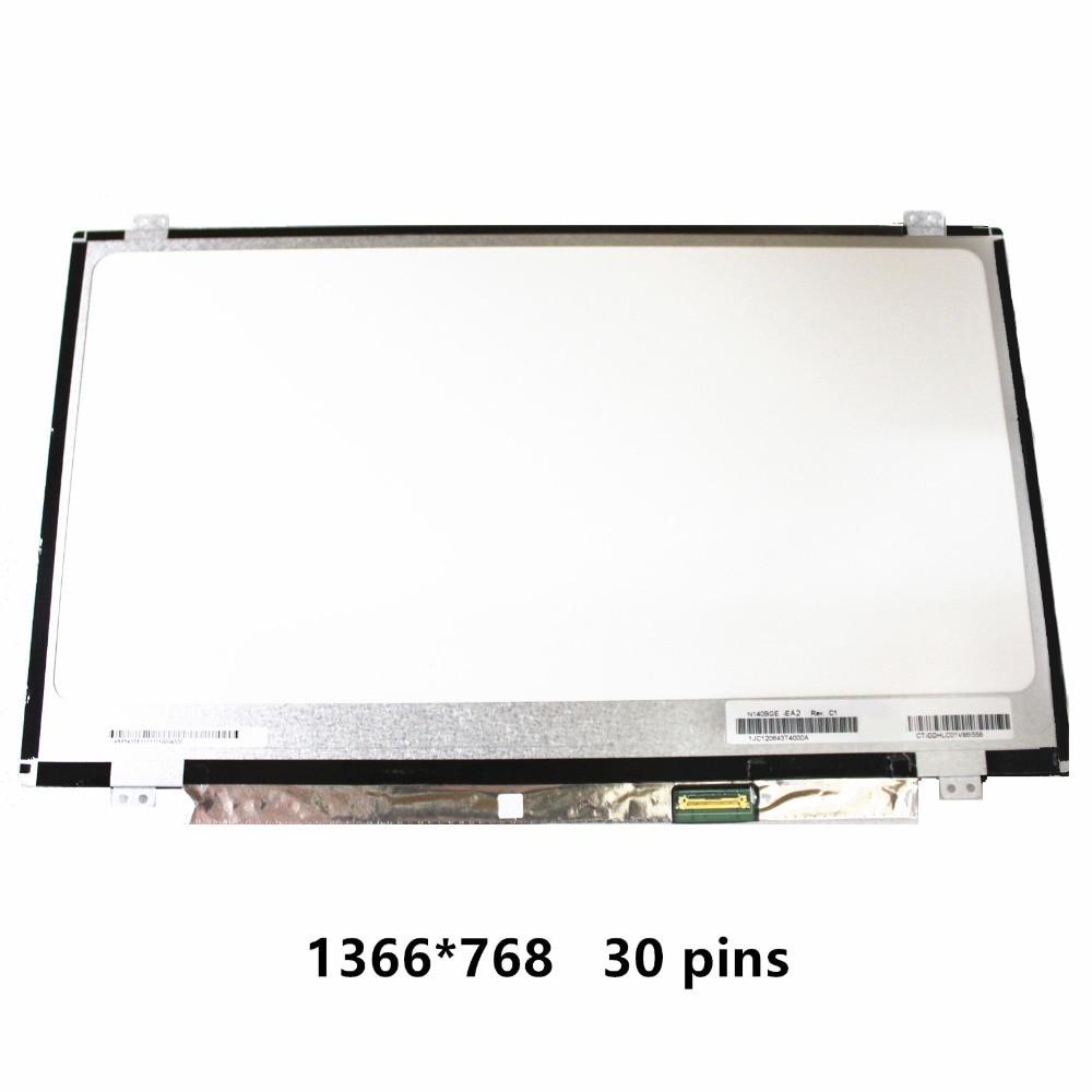 14.0'' LCD Screen Display Panel Matrix For HP Probook 440 G4 NT140WHM-N41 N140BGE-EA2 N140BGE-EA3 N140BGE-E33 N140BGE-E43 EB3 inotec e33
