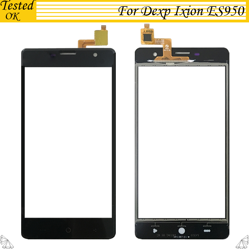 For DEXP Ixion ES950 Touch Panel Smartphone Touch Screen Digitizer Front Glass Sensor For DEXP Ixion ES 950 TouchScreen