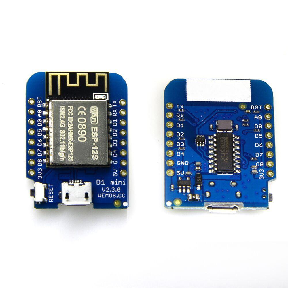 D1 mini V2.3.0 - WIFI IOT ESP8266 ESP-12S 4MB FLASH Internet of Things development board based an incremental graft parsing based program development environment