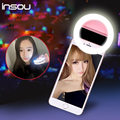 New portable Selfie Light LED Ring  Fill Light Up Selfie Luminous  Ring For iPhone SE 5 6 6S Plus for LG for Samsung for HTC