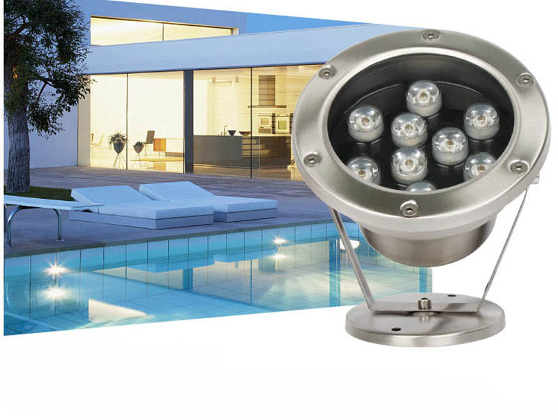 6w-24w Fish Pond Landscape Lamp 24v Fountain Swimming Pool Led Underwater Light Waterproof Lamp White/warm White Atv,rv,boat & Other Vehicle