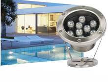 6 Вт-24 Вт пруд пейзаж лампа 24В фонтана плавательного бассеина Сид подводный свет водонепроницаемый белый/теплый белый