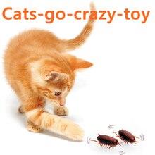 [MPK Store] Таракан и мышь на батарейках, игрушка для кошек, электронный таракан, забавная игрушка для кошек