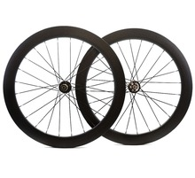 700C 60mm depth disc brake carbon wheels 25mm width Clincher/Tubular Road Disc Cyclocross Bicycle Carbon Wheelset