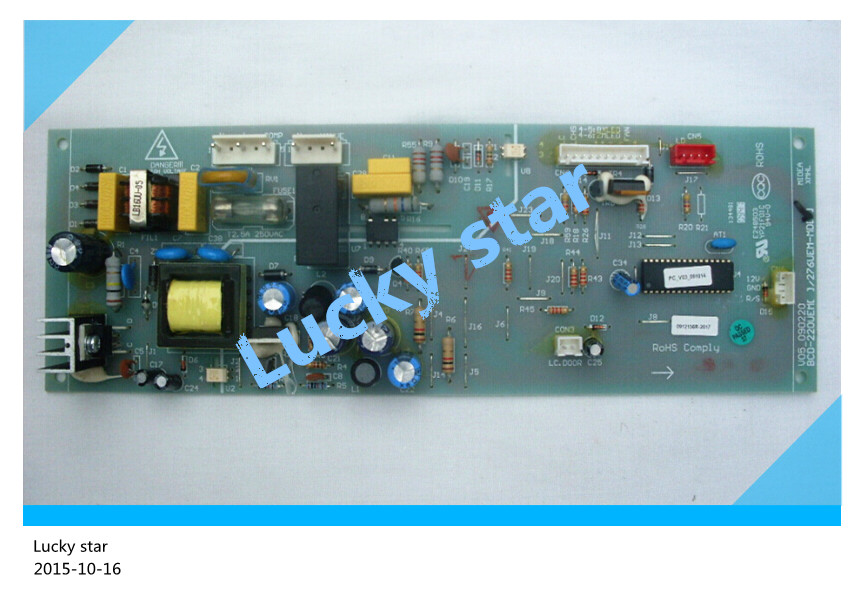 95% new for Midea refrigerator computer board circuit board BCD-276UEM board good working 95% new for haier refrigerator computer board circuit board 0064000230d bcd 228wbs bcd 228wbsv driver board good working