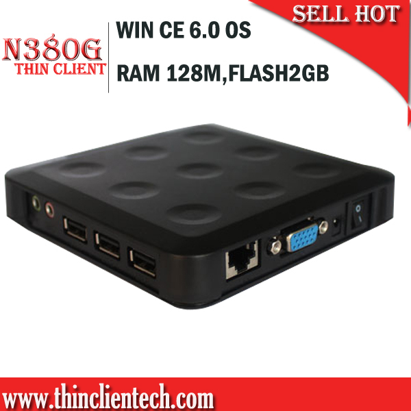 Mini Thin Client PC Windows Embedded With RAM 128M FLASH 2GB,Touch Screen Supported