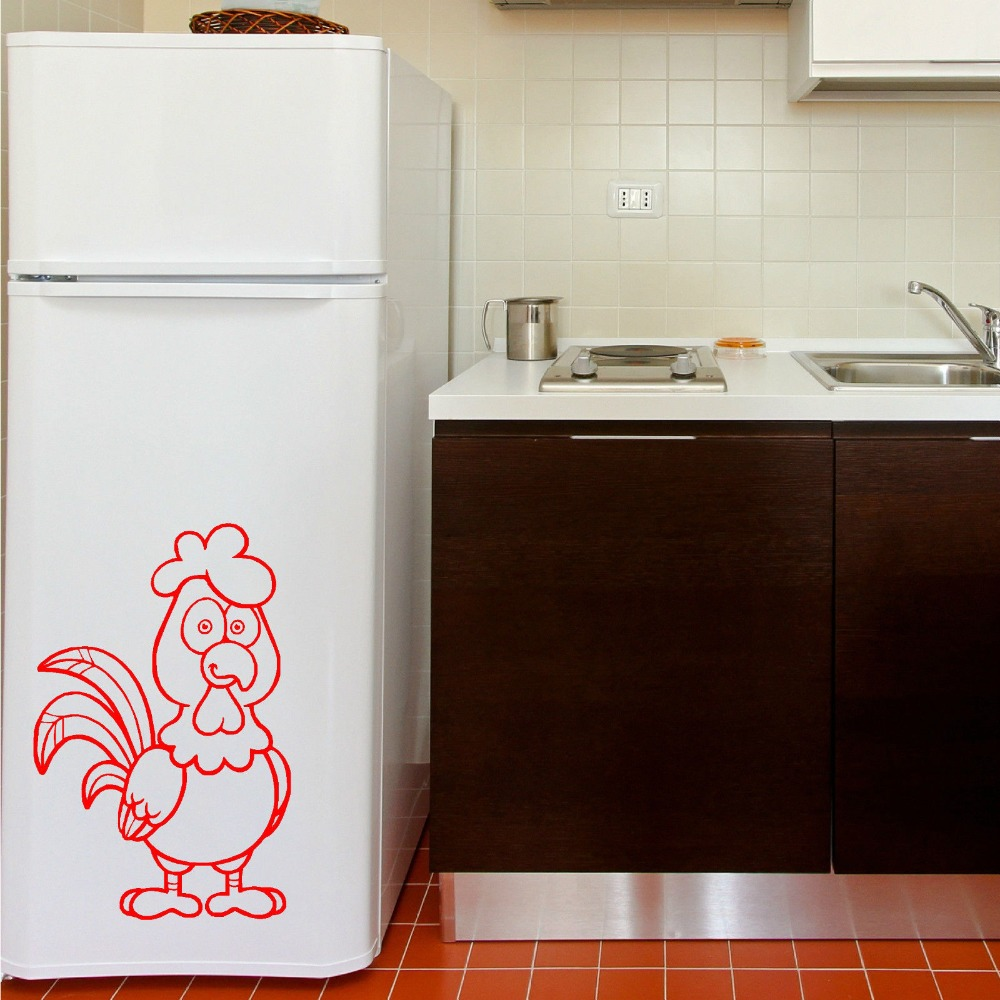 Decorative Chickens For Kitchen Popular Chicken Stickers Buy Cheap Chicken Stickers Lots From