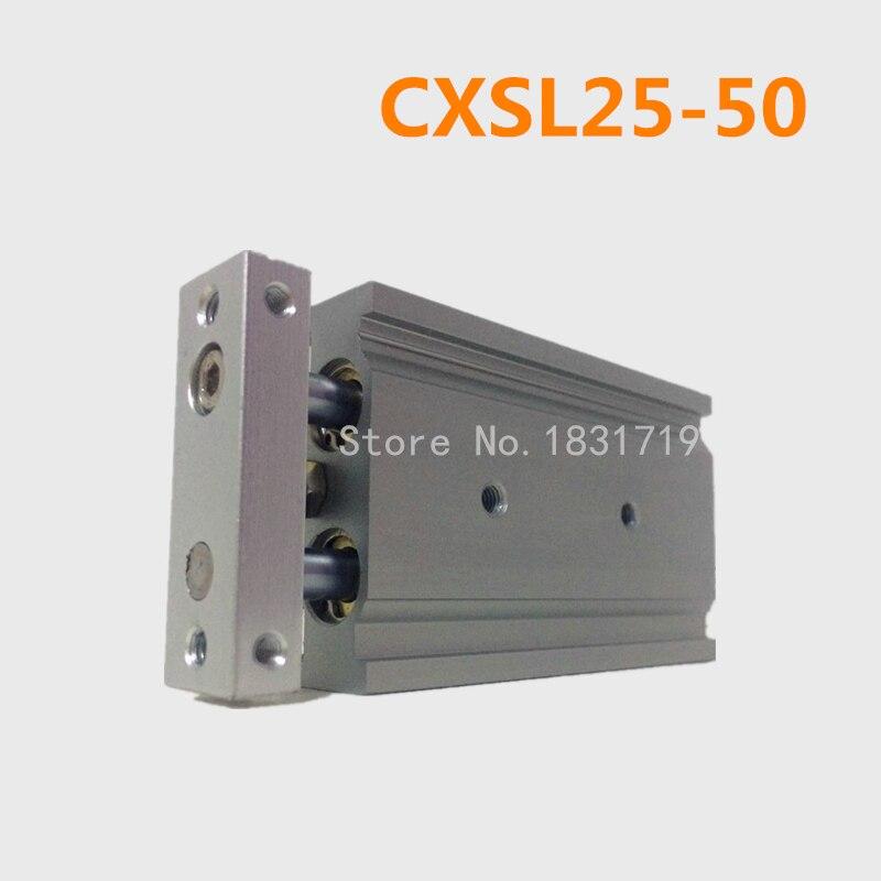CXSL25-50 Duplex double bar cylinder ball bearings Pneumatic components CXSL25X50CXSL25-50 Duplex double bar cylinder ball bearings Pneumatic components CXSL25X50