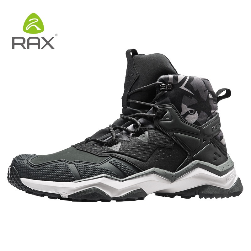 цена на Rax Professional Hiking Shoes For Men Anti-Slip Hiking Boots Men Outdoor Climbing Walking Mountaineering Trekking Sneakers D0520
