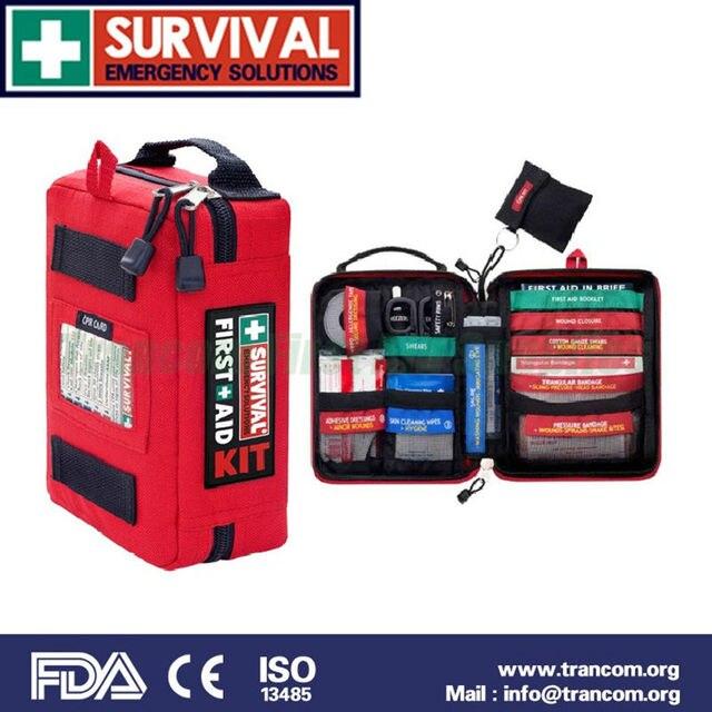 SES03 Médical mini survie trousse de premiers soins avec LA FDA/CE