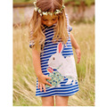 NEW Casual Dress Beautiful Baby Girl Dress Lovely Rabbit  Cartoon Fashion Dress