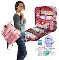 Promoción! multifuncional mochila de maternidad de enfermería bebé bolso de pañales de la mamá