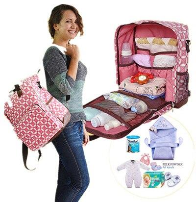 Promotion! Multi-functional Maternity Backpack Nursing bag Baby Diaper Bag Mommy Shoulder Bag