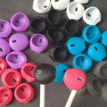 100pcs/50pairs Airpods Silicone Earphone case Earpads for iphone 5 5s 6 6plus 6s 6splus 7 7plus In-E