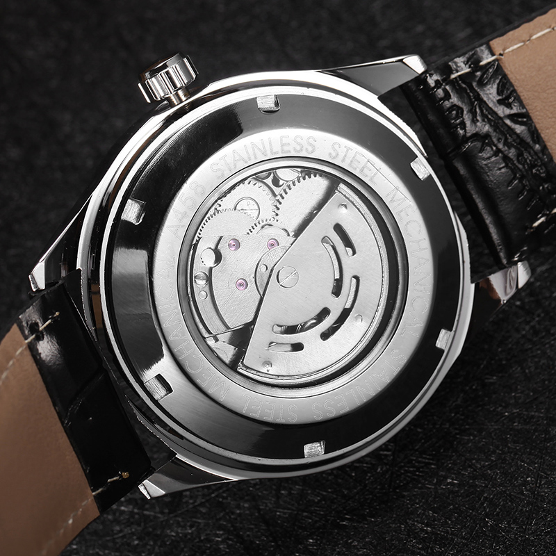 WINNER Watch Automatic Mens Watches Business Classic Auto Date Day Leather Band Skeleton Self wind Wristwatch WINNER Watch Automatic Mens Watches Business Classic Auto Date Day Leather Band Skeleton Self-wind Wristwatch