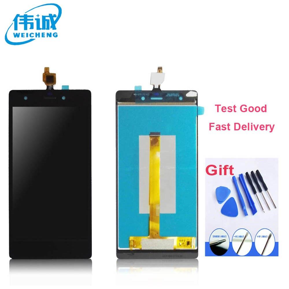 imágenes para De calidad superior LCD Display + Touch Screen Asamblea digitalizador Para Wiko Pulpa 4G Envío libre con Herramientas