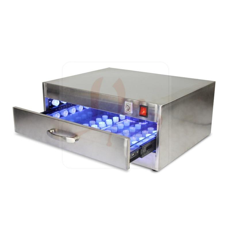 Hot drawer design LY UV curing LED box 84W 118W 110V/220V factory supply OEM ODM support 6951 plastic magic drawer box yellow