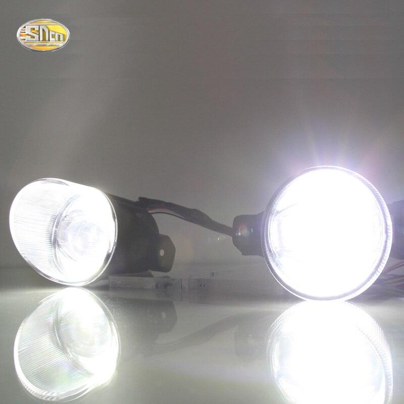 SNCN высокая Яркость 12V светодиодные противотуманные фары для Nissan NV200 Кашкай марта максимумы дневные ходовые огни DRL водить штепсельной вилки&игры