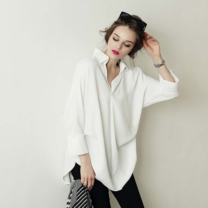 Image result for oversize white blouse