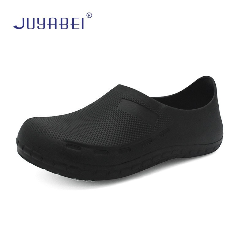 Chef Shoes Men's Kitchen Special Anti-skid Oil-proof Shallow Mouth Wear Work Shoes Restaurant Hotel Cafeteria Cafe Waiter Shoes