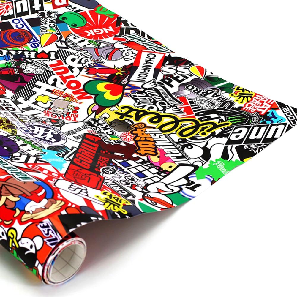 152cm x 50cm JDM Decals Cartoon Graffiti Car Sticker Graffiti for Car Motorcycle Bike Laptop Sticker оголовок скважинный unipump 152 40 акваробот