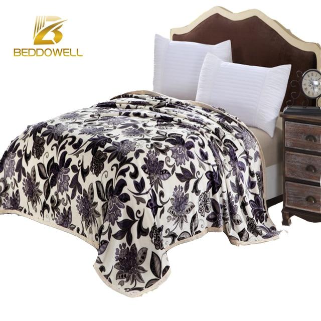Floral Coral Fleece Blanket Soft Throw Plaid Blankets Luxury Summer Impressive Best Soft Throw Blanket