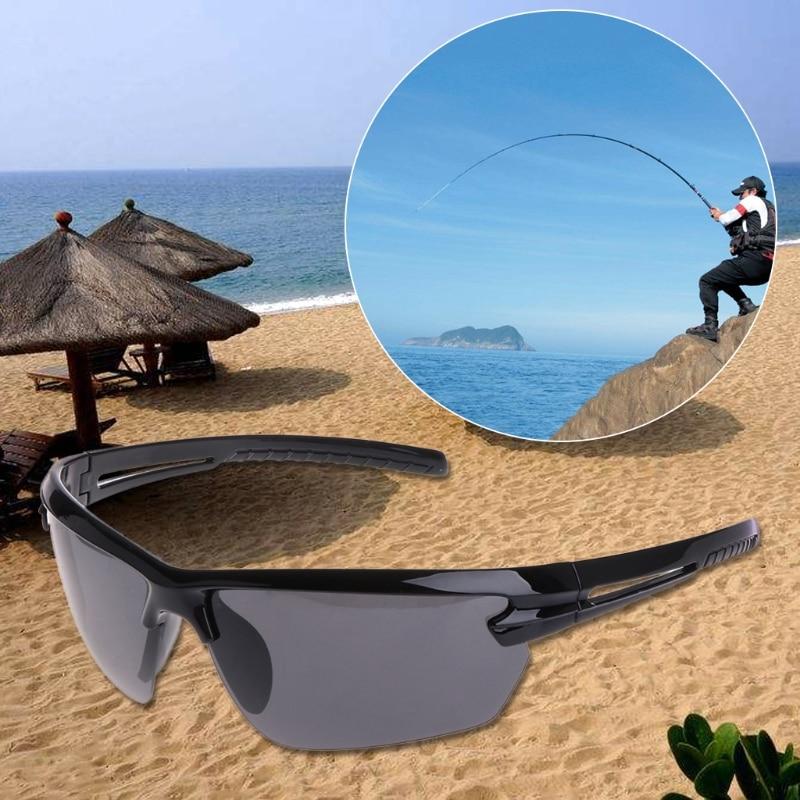 Glasses Fishing Cycling Polarized Outdoor Sunglasses Half Frame Sun Sport UV400 #35/7W