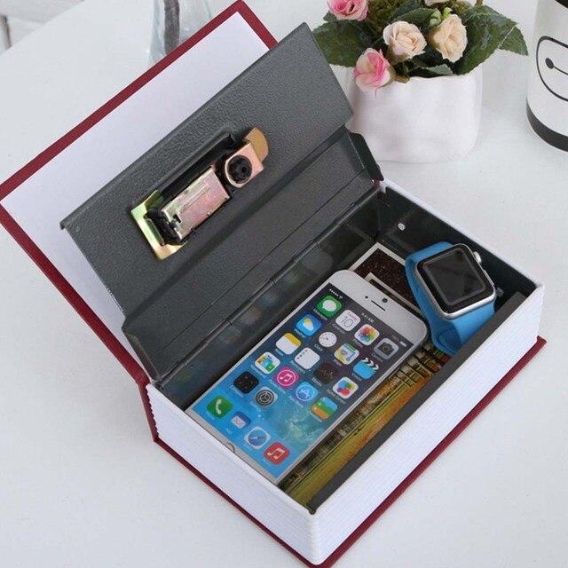cachette secrete objet cool nouveau design storage safe box secret book tirelire argent cach. Black Bedroom Furniture Sets. Home Design Ideas