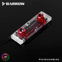 Barrow RAMWBT-PA  RAM Water Cooling Block Kits  LRC 2.0 5v  One Kit Two Armor One Block  One Block Maximum Support 4 RAM