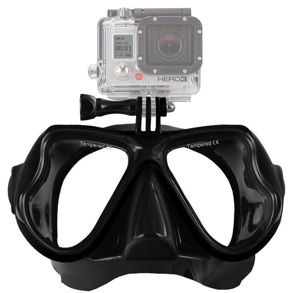 Подводный Одежда заплыва дайвинг очки маска крепление для GoPro