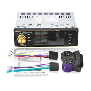 Image 4 - 4019b1Din 12 볼트 4.1 인치 라디오 튜너 BT MP4/MP5 차량 플레이어 MP5 다기능 플레이어 BT MP3 플레이어