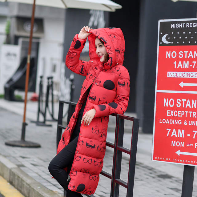OLGITUM Mode Winter Baumwolle Gefütterte Jacke Frauen