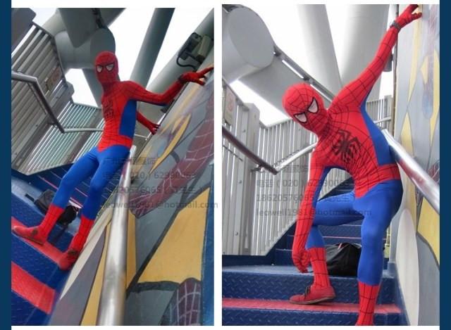 DB23580 Adult spiderman costume-16