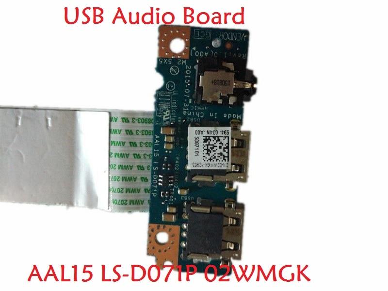 все цены на Laptop USB Audio Board for DELL I 15 3559 5559 P51F AAL15 LS-D072P 04WVN4 4WVN4 NBX0001QR00 0CJY97 CJY97 LS-D071P 02WMGK 2WMGK онлайн