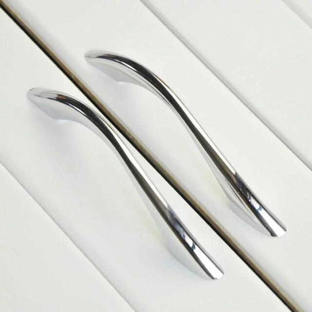 Moderne Badezimmer Küche Schublade Ziehen Griffe Silber Chrom ...