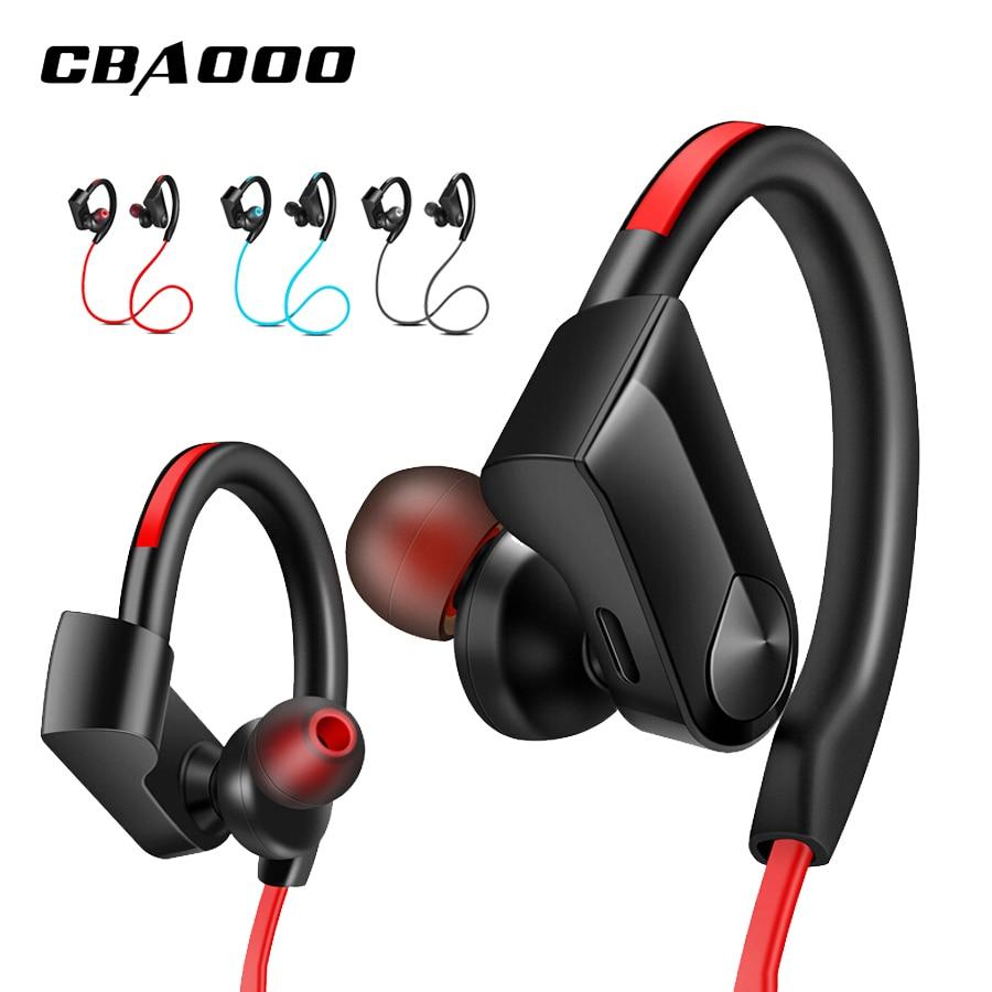 CBAOOO K98 беспроводные наушники, Bluetooth стерео наушники, водонепроницаемые, свободные руки, спортивные басы, гарнитура с микрофоном для xiaomi Huawei ...