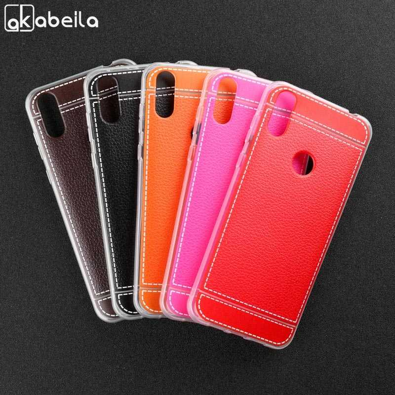 Lederen Siliconen Case Voor Wiko Sunny 2 Max Sunny2 Plus Tommy 2 3 Tommy2 Plus View 2 XL Plus Pro lenny 3 4 Max Plus Cover