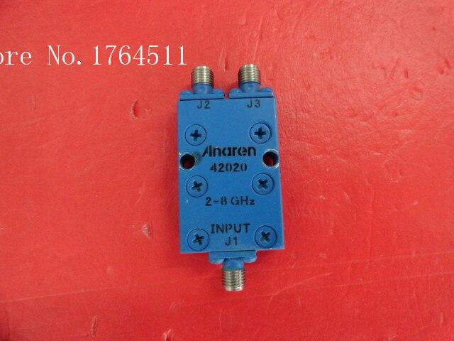 [BELLA] Supply ANAREN 42020 RF Coaxial Power Divider Into Two 2-8GHz SMA