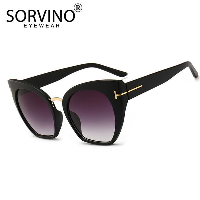 90s Retro Half Frame Cat Eye Sunglasses Women Luxury Brand Designer Oversized Sunnies Vintage Cateye Sun Glasses Big Shades SP56