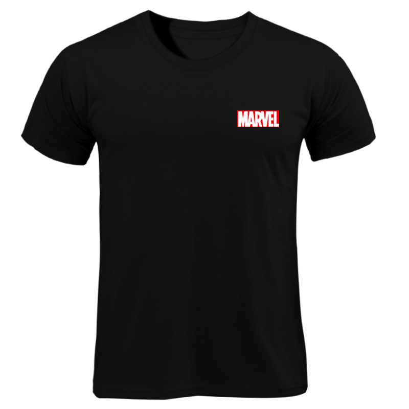 2019 The New t-shirt Brand Marvel prints t Shirt men tops tees Top quality  short sleeves Casual men tshirt marvel t shirts men Футболка