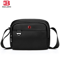 BALANG New Men Business Black Messenger Bags Waterproof Anti Theft 1680DOxford Casual Travel Daily Crossbody Sling