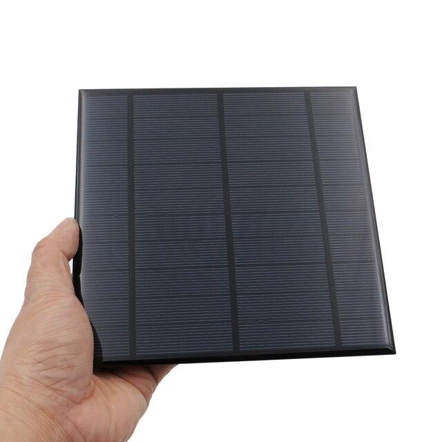 5V 4.2W 840mA panneau solaire Portable Mini Sunpower bricolage Module panneau système pour lampe solaire batterie jouets téléphone chargeur cellules solaires