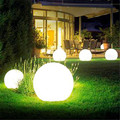 Waterproof Creative Modern Round Ball PE Led RGB Table Lamp for Bar Bedroom Living Room Camping Remote Control Night Light 1354