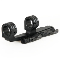 Canis Latrans Hot Selling 6061 Aluminum 25.4mm 30mm Double Ring Scope Mount for Hunting gs24 0178